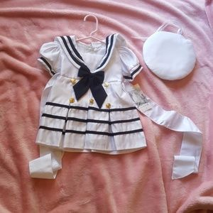 Other - Baby girl sailor costme dress size small